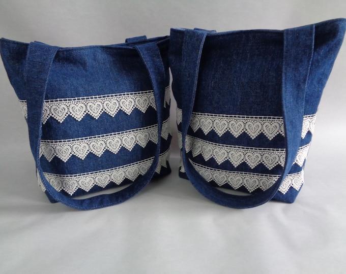 Denim & Lace purse
