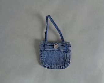 Denim Doll Purse