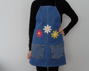 Women's Denim Apron