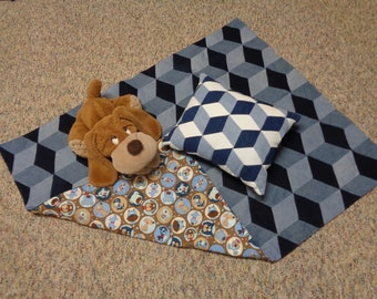 Children's Quilt and Pillow Set