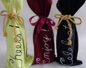 Holiday Wine Gift Bags