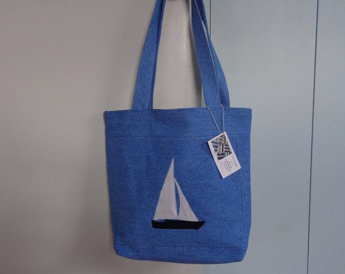 Nautical Denim Bag