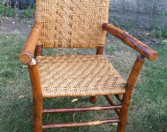 Vintage Old Hickory Style Chair