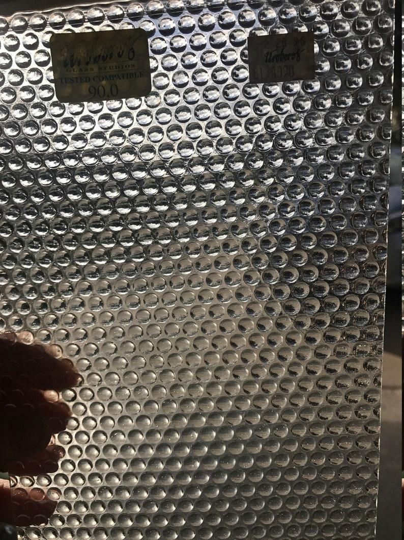 Stained Glass Sheet Uroboros 81-0090 Radium Thin 8 x 6\u201d