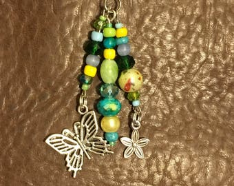 Spring Butterfly Planner Charm