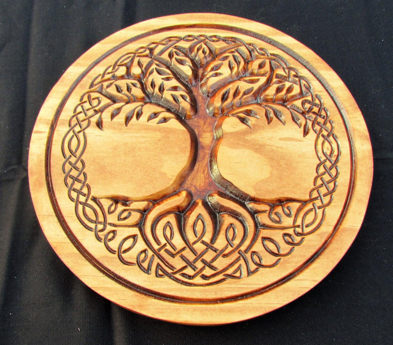 Celtic Tree of LifeNorse artLife symbolCeltic knot   Etsy