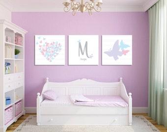 Girls room wall art | Etsy