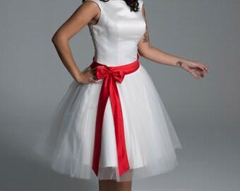 Vestido de novia años 50