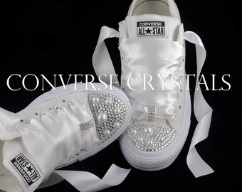Wedding Converse Etsy