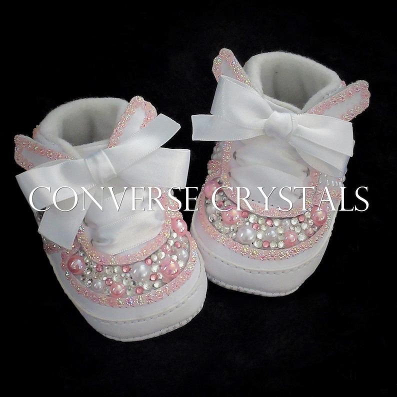 4c32942e94 Custom Baby Nike Air Force 1 Crib shoes | Etsy