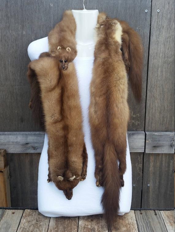 Mink stole/vintage mink stole/vintage fur stole/vi