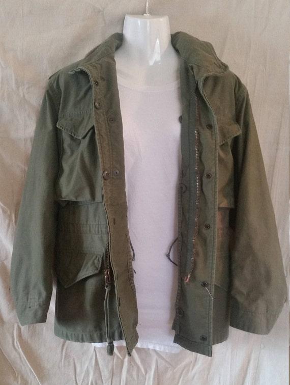 M-65 Cold weather coat/1980 military coat/militar… - image 5