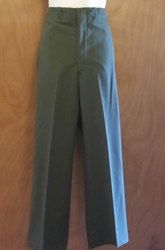 Military dress pants/military pants/vintage milita