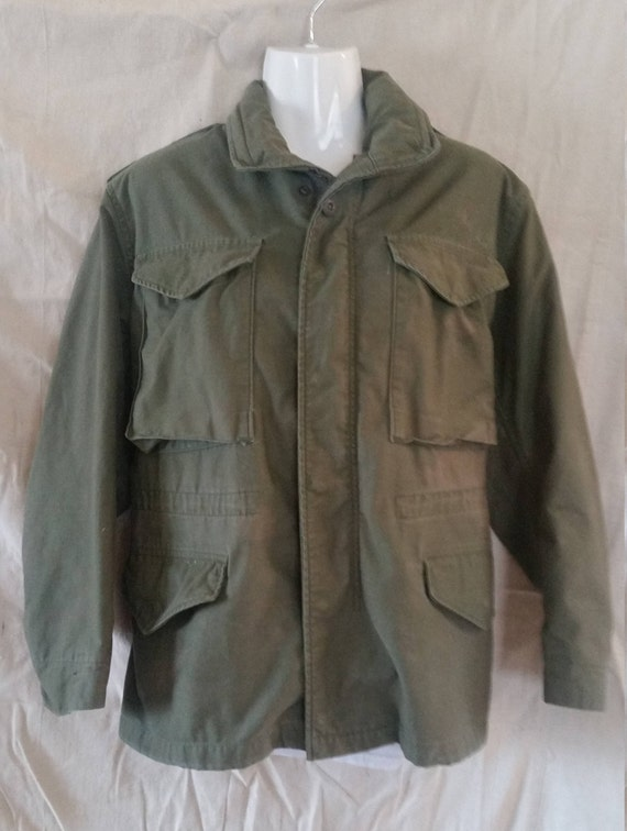 M-65 Cold weather coat/1980 military coat/military
