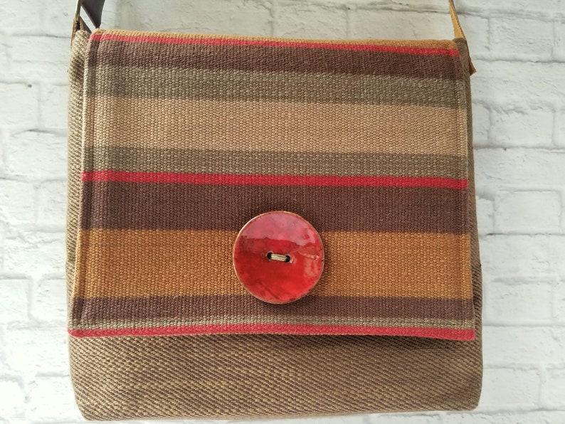 Adjustable Strap Square Pocketbook Bohemian Cross Body Purse Messenger Bag Women Handbags Handmade Boho Crossbody Shoulder Satchel
