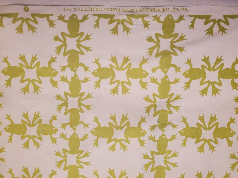 Leap Frog The Alexander Henry Fabrics Collection