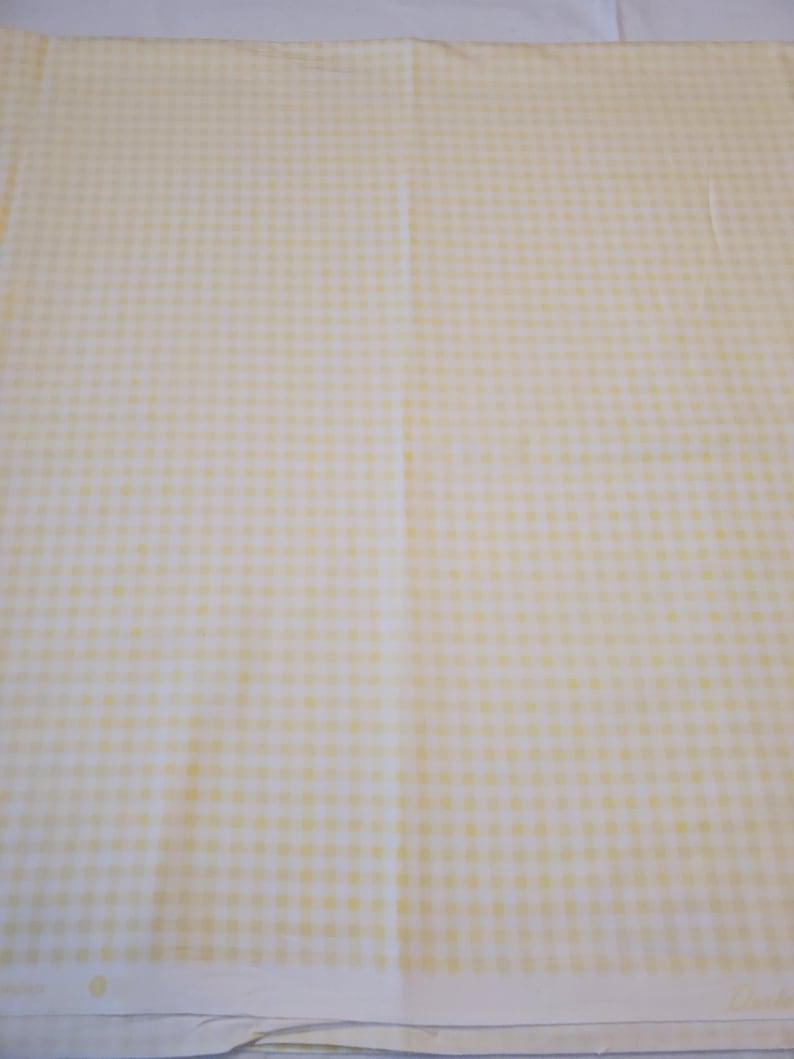 Gingham Yellow Westminster Fibers Grand Revival for Free Spirit Darla by Tanya Whelan