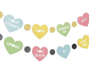 Anti Valentines Day Etsy
