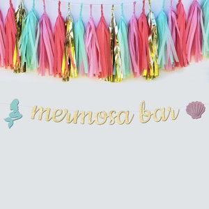 Personalized Mermaid Bridal Shower Banner Custom Trading The Tail for A Veil Bachelorette Party Decorations Bachelorette Party Banner