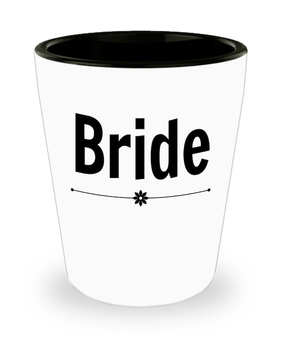 Wedding Bride Shot Glass Party Favor Birthday Gift For Her