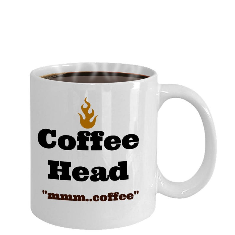 Funny Coffee Mug Gift For Lover Birthday Her Him Head