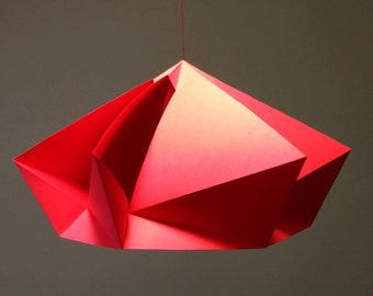 Twirl Paper Ornament Decoration, DIY, Printable 3D Hanging Ornament Papercraft Digital Download
