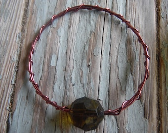 Brown Wire Bangle