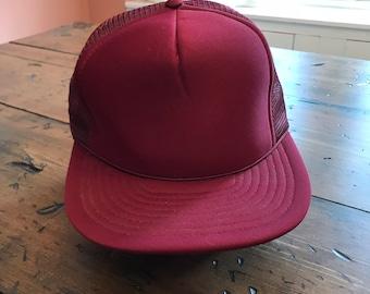 b49f03d866f Maroon Trucker Hat