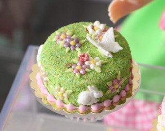Garden Cake for Blythe (B) OOAK