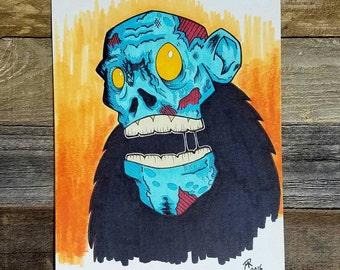 MonsterRot Nightmares Zombie