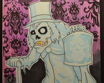Walking Dead comic sketch cover