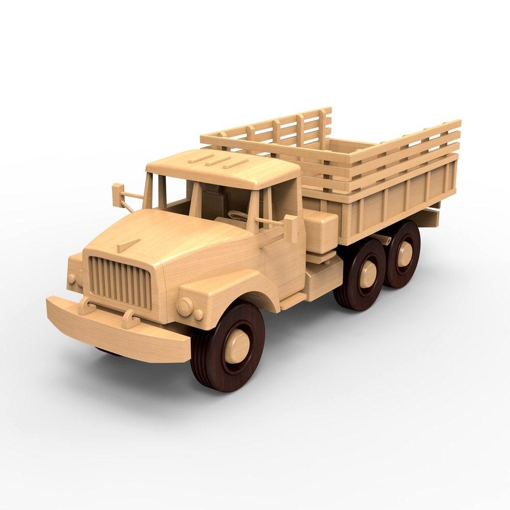 Russischen ZIL-131 plant Holz Lkw Modell Holzbearbeitung für | Etsy