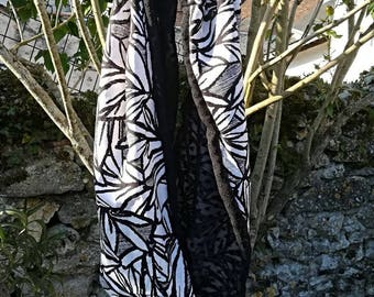 Tube scarf/scarf light and fresh for spring