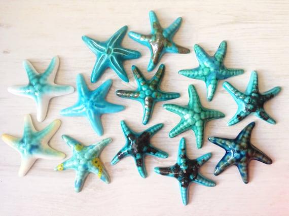 Calamite stelle marine e conchiglie in ceramica etsy