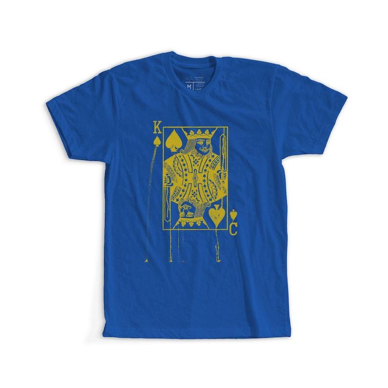 Kansas City Royals Inspired King Card Tee image 0