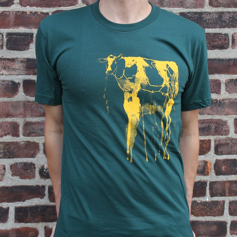 Green Bay Packers Art-Inspired Tee  The Big Cheese image 0