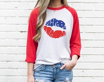 Tstars American Flag Peace Sign 4th of July 3//4 Sleeve Baseball Jersey Toddler Shirt
