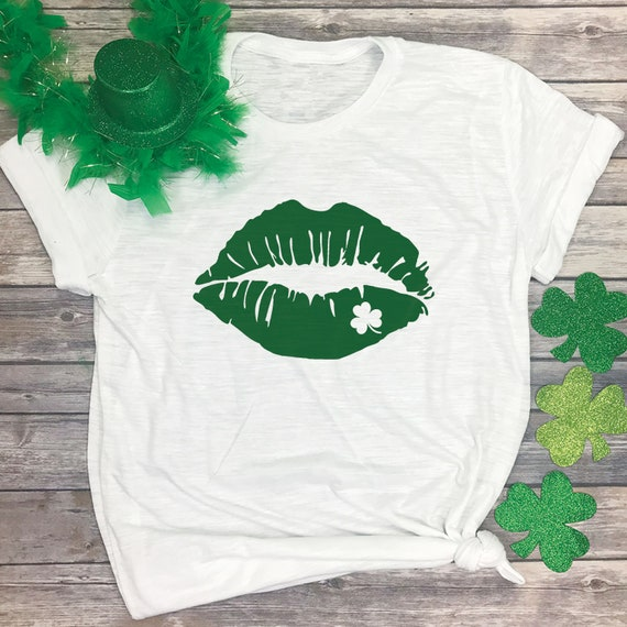 31c4d2c0 Kiss Me I'm Irish Tshirt Irish Tee Shirt Cute St | Etsy