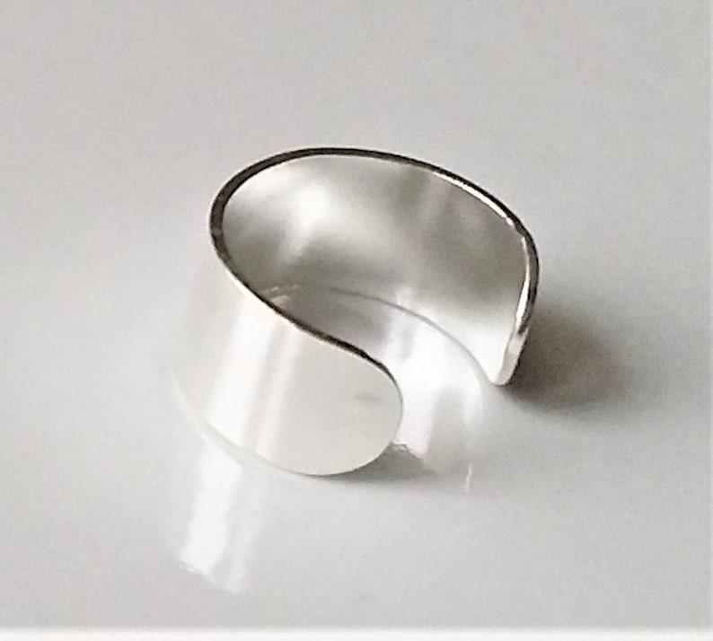 Minimalist Style Fake Cartilage Earrings Cuff Earrings Sterling Silver Ear Cuff Wrap Earrings Ear Cuff No Piercing Modend Jewelry