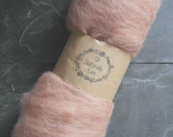 Wool Batt Eco Dyed Avocado