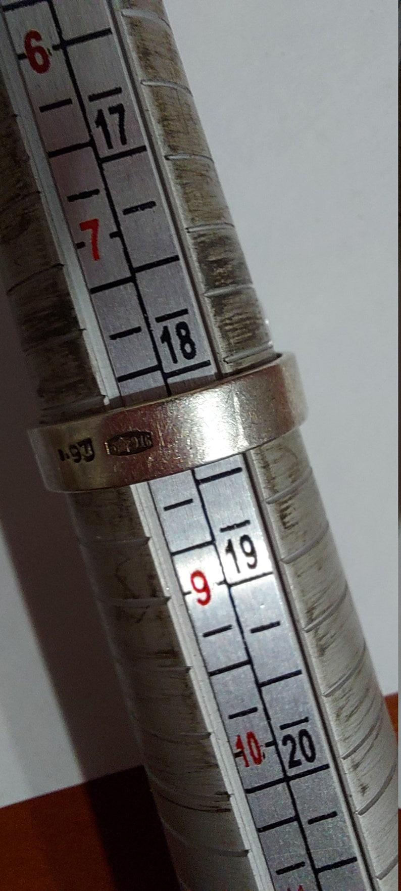 RING SILVER USSR 916