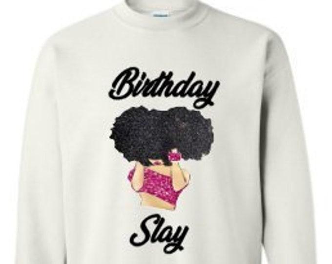 Birthday Slay Women's Hoodie-Ladies Birthday Hoodie-Best Friend Birthday Gift-Zodiac Birthday Gift