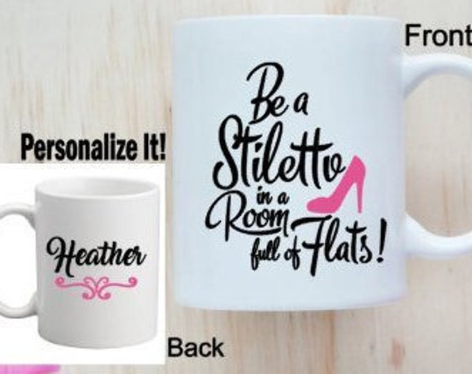 Personalized Mug Customized Coffee Tea Mug Mug with Motivational Saying Women's Inspirational Saying Mug