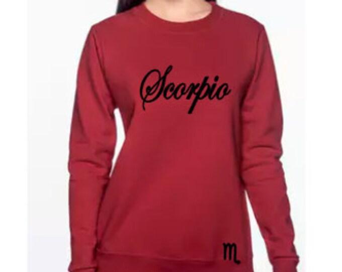 Scorpio Birthday Shirt, Women's Birthday Shirt, Birthday Sweatshirt, Zodiac Inspired Gift, October Birthday Gift, November Birthday Gift