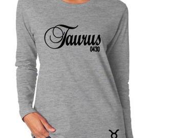 Taurus Zodiac Birthday Shirt-Taurus Personalized Shirt-April Birthday Gift-May Birthdday Gift Idea-Custom Birthday Shirt-Birthday Outfit