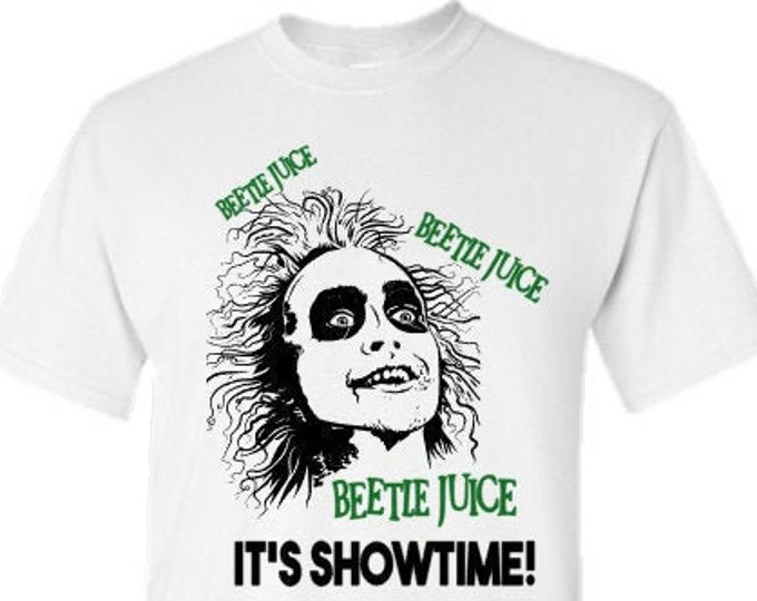 Beetlejuice T-Shirt-Scary Halloween Shirt-Halloween Hoodie-Funny Shirt-Gift Idea for Men-Halloween Party-Unisex Halloween Shirt
