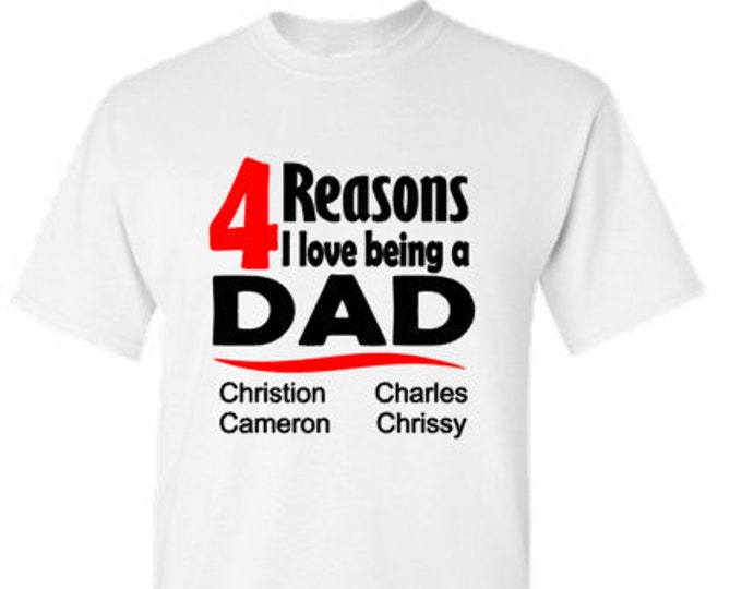 Personalized Dad Shirt-Father's Day Shirt-Shirt for Dad-Custom Shirt for Dad-Gift Idea for Dad-New Dad Gift-Father's Day Gift-Stepdad Gift