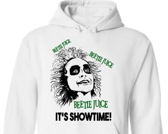 Beetlejuice Hoodie-Scary Halloween Shirt-Mens Halloween Hoodie-Funny Shirt-Gift Idea for Men-Halloween Party-Unisex Halloween Shirt