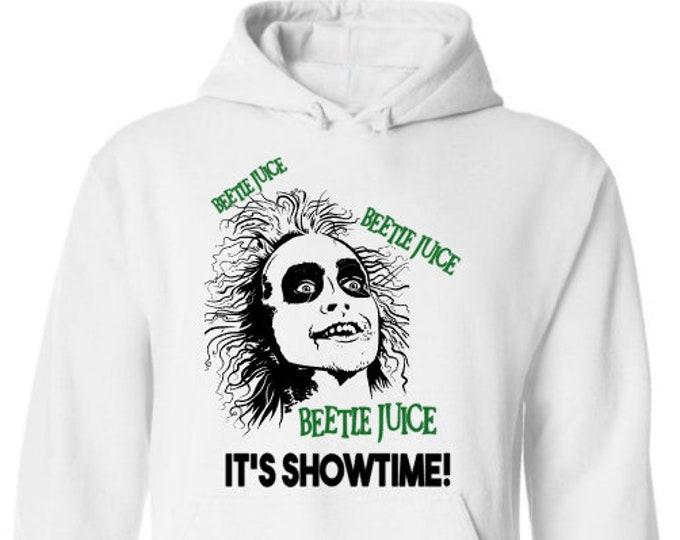Beetlejuice Hoodie-Scary Halloween Shirt-Mens Halloween Hoodie-Funny Shirt-Gift Idea for Men-Halloween Party-Unisex Halloween Shirt