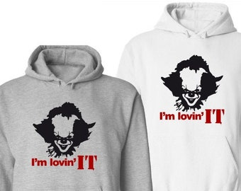 I'm Lovin It Halloween Hoodie-Mens Halloween Hoodie-Scary Shirt-Gift Idea for Men-Halloween Party-Unisex Halloween Shirt